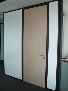 cloisons de bureau portes-toute-hauteur